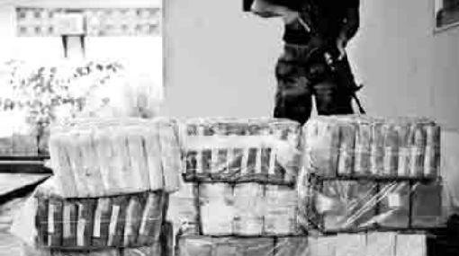 Decomisan 307 kilos de cocaína de alta pureza en Loreto