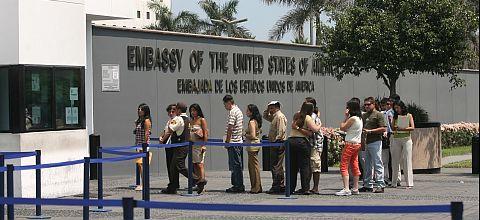 Costo total para tramitar visas a EE.UU. será ahora de 140 dólares