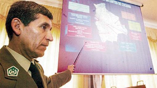 Ex jefe antidrogas de Evo Morales fue condenado a 14 años de prisión por narcotráfico