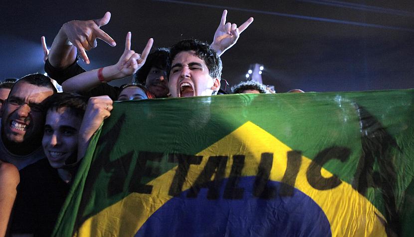FOTOS: Tres generaciones emblemáticas del heavy cubrieron de negro el Rock in Rio