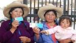 Región Cajamarca espera que al 2014 toda su población tenga DNI - Noticias de veronica baca