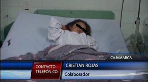 """""""Niños de Cajamarca fueron envenenados con insecticida"""""""