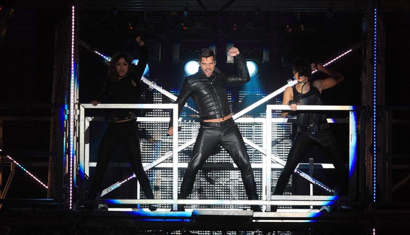 FOTOS: Ricky Martin deslumbró con su sensualidad y erotismo