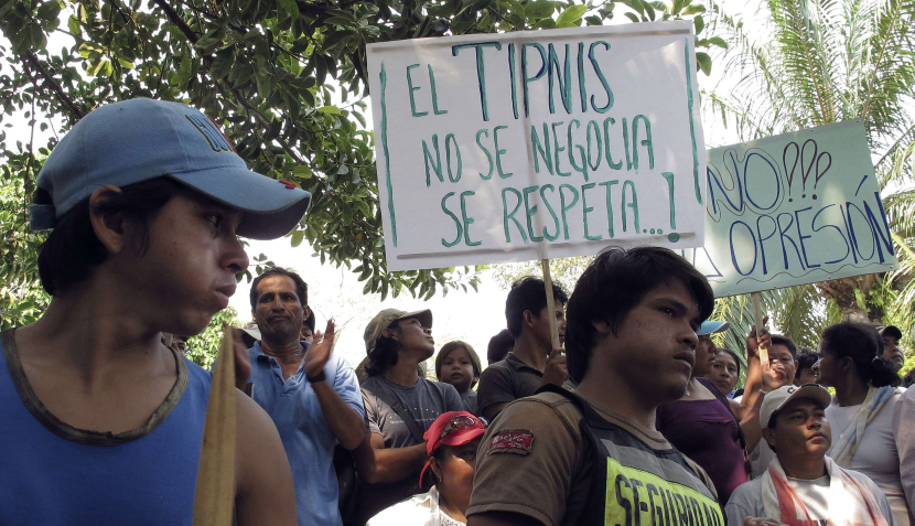 FOTOS: Movilizaciones en toda Bolivia en respaldo a indígenas y contra Evo Morales