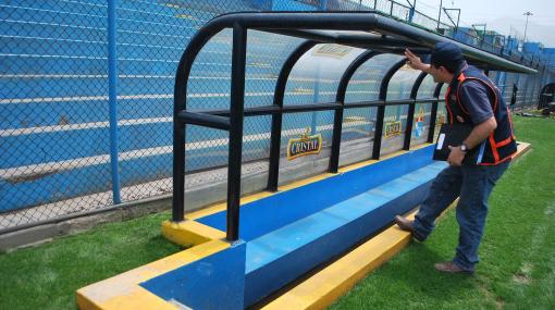 Estadio San Martín deberá reforzar enmallado para evitar violencia