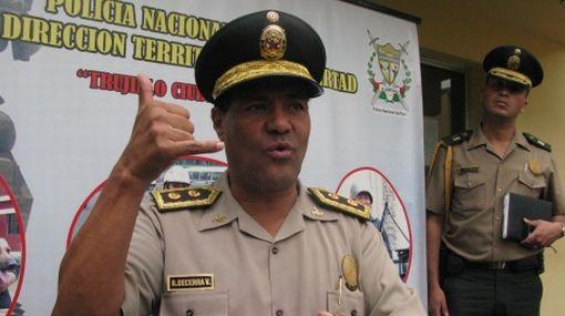 Director general de la PNP será removido junto a un grupo de generales