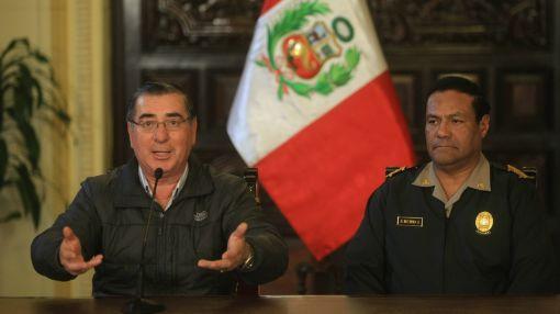 Ministro del Interior confirmó purga en el alto mando policial