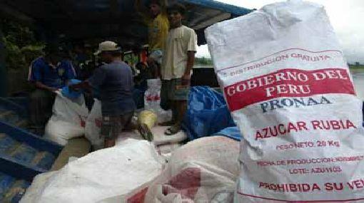 Pasco: denuncian que Pronaa entregó alimentos a punto de vencerse