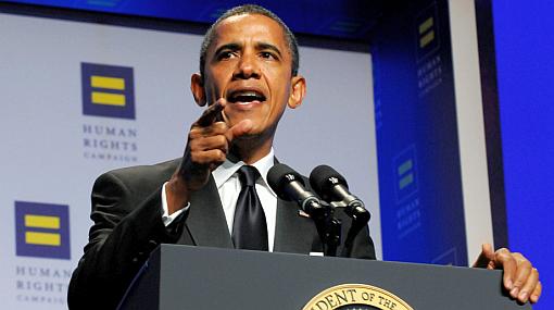 """Obama: """"El comandante en jefe debe apoyar también a soldados gays"""""""
