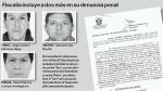 'Ratón' y 'Tavo' fueron incluidos en denuncia penal por Caso Oyarce - Noticias de jorge gustavo manrique aliaga