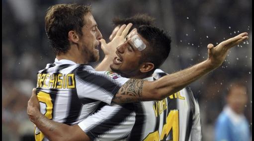 Ni Vargas ni Cruzado: Juventus venció al Milan y va primero en Italia