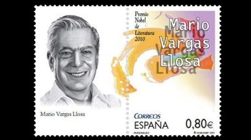 Mario Vargas Llosa ya tiene su propio sello postal en España