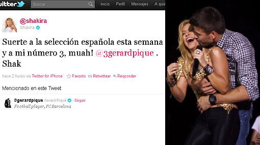 Shakira sigue feliz con Piqué y negó que haya puesto fin a su romance