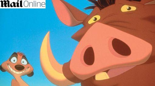 Timón y Pumba saltaron a la vida real