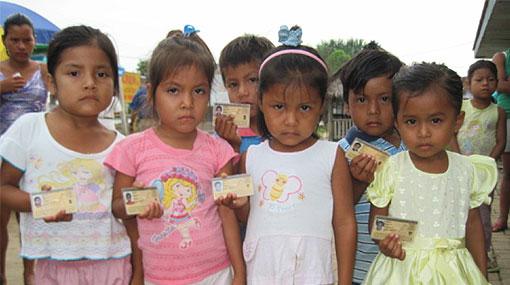 Loreto: veinte mil nativos tendrán DNI por primera vez