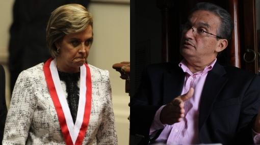 Legisladores fujimoristas criticaron duramente a Aída García Naranjo
