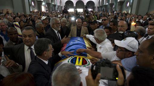 Venezuela: ex presidente Carlos Andrés Pérez ya descansa en paz