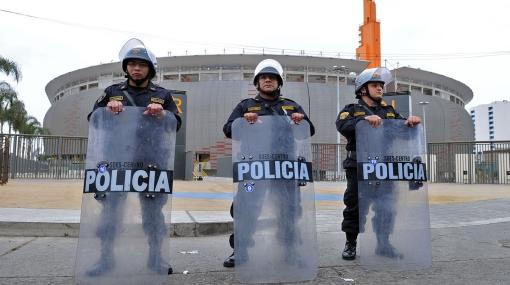 Todas las medidas de seguridad para el Perú vs. Paraguay de esta noche