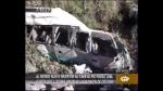 Al menos 10 muertos dejó volcadura de coaster en la Carretera Central - Noticias de juan jose ruda