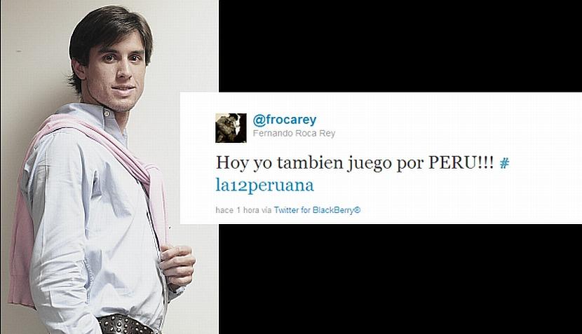 La farándula peruana respalda a la selección nacional vía Twitter