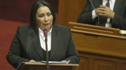 Aída García Naranjo mantiene una denuncia en agravio del Estado