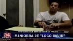 Testigo de la defensa del 'Loco David' tendría antecedentes por posesión de drogas - Noticias de alejos dominguez