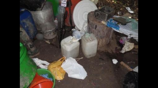 Golpe al narcotráfico: casi una tonelada de cocaína fue decomisada en el VRAE