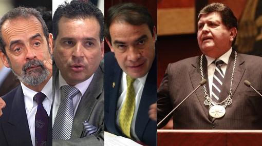 Diez Canseco, Chehade y Lescano investigarán gestión de Alan García