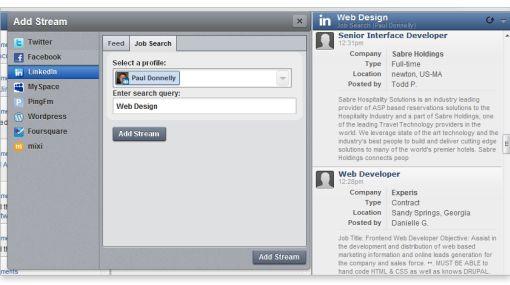Hootsuite integró a su plataforma a la red social profesional Linkedin