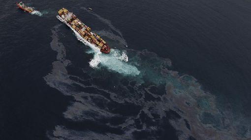 Desastre ambiental en Nueva Zelanda: carguero varado aún vierte petróleo