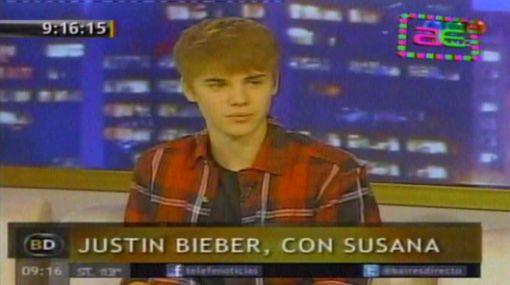 "Susana Giménez a Justin Bieber: ""Acuérdate de mí, eres Michael Jackson"""