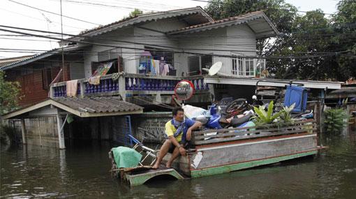 Inundaciones en Tailandia: casi 300 muertos y Bangkok está amenazada