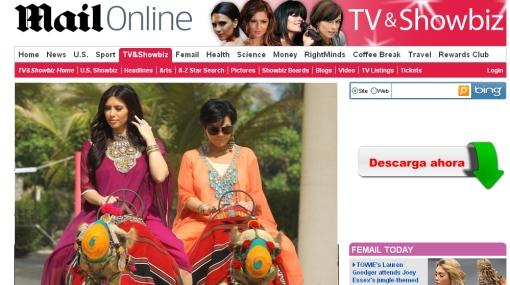 Kim Kardashian y su madre pasean en camellos por Dubái