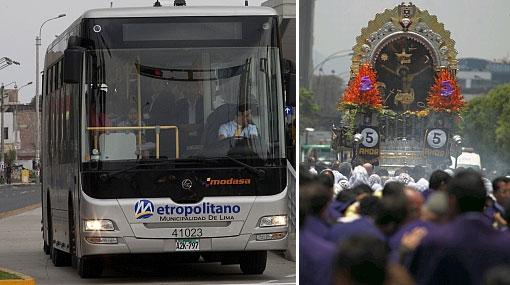 Ruta A del Metropolitano sería normalizada después de las 7 p.m.