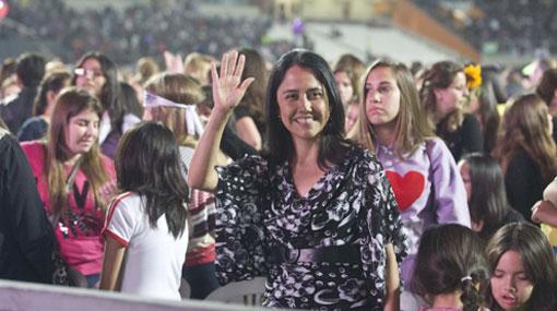 Nadine Heredia, la tercera más poderosa del Perú, según Encuesta del Poder