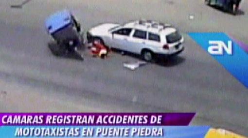 VIDEO: mototaxis representan peligro constante en Puente Piedra
