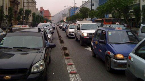 Cuidado: hay intensa congestión en el Centro de Lima por la procesión
