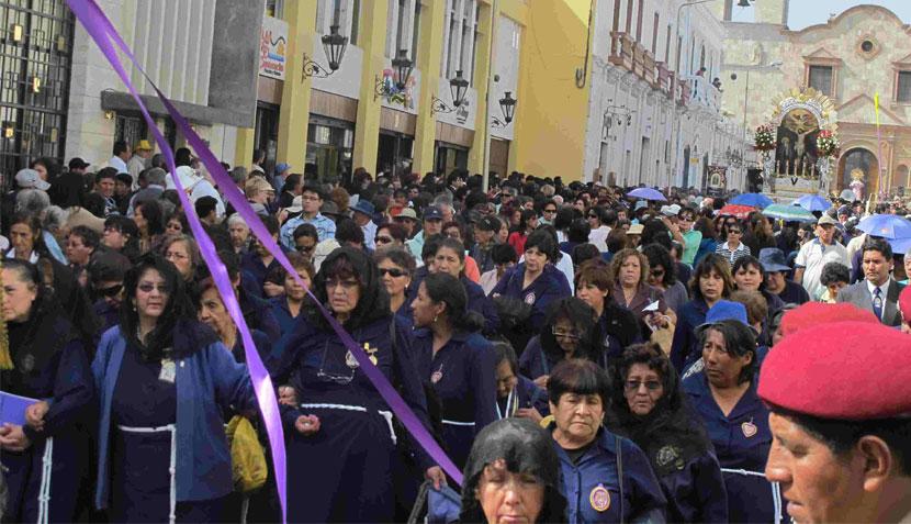 FOTOS: así se vivió la procesión del Señor de los Milagros en Arequipa y Piura ¿Y en tu ciudad?