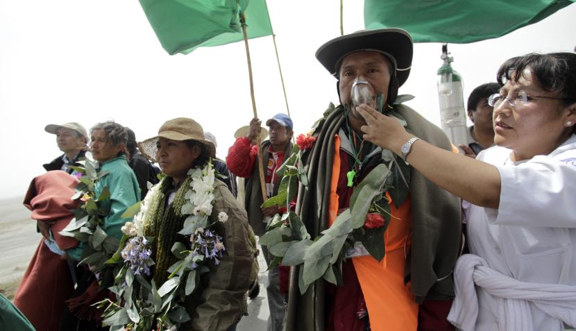 cumbres indigenas:
