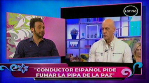 Conductores españoles se disculparon con Sofía Franco por insultos