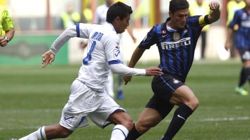 Cruzado jugó todo el partido en la derrota del Chievo ante Inter