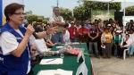 Villarán anunció paquete de obras en beneficio de vecinos de VMT - Noticias de susana viveros