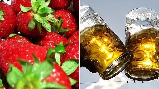 Las fresas protegen al estómago frente al consumo de alcohol