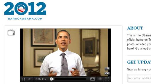 Barack Obama abrió su cuenta en Tumblr