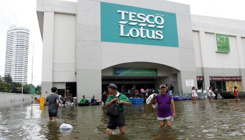 FOTOS: las inundaciones en Bangkok están cada vez peor