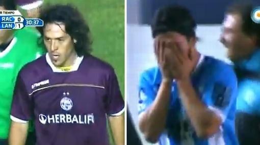 """""""Camoranesi es mala leche y cobarde"""", dice el futbolista al que pateó en la cara"""