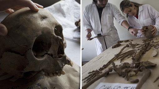 Restos hallados en Chavín serían de soldados chilenos