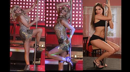 FOTOS: Bettina Oneto bailó sensual y atrevida en el tubo