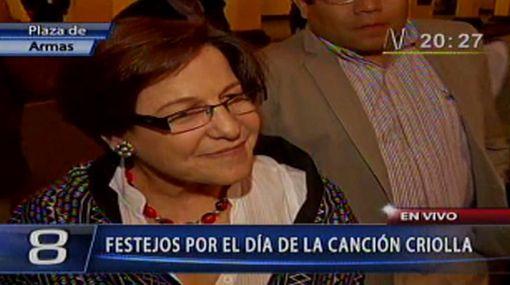 """Susana Villarán: """"No podemos decir que hoy nos oponemos al Halloween"""""""