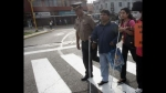 Semáforos sonoros a favor de invidentes serán instalados en Lima - Noticias de maria jara risco